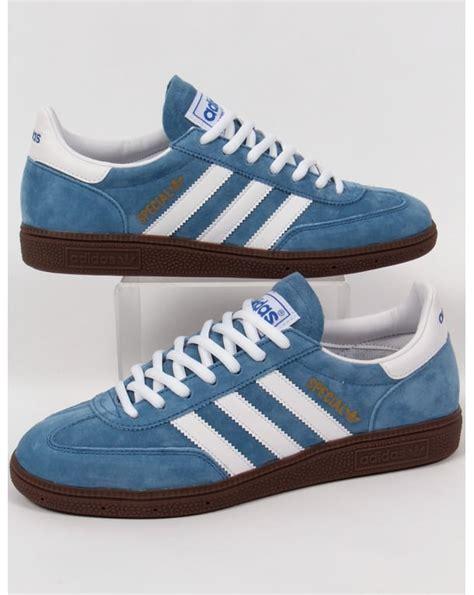 adidas handball spezial trainers royal blue white originals special mens shoes sneakers