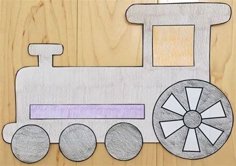 Paper Pasting Craft - paper craft cars and trucks for