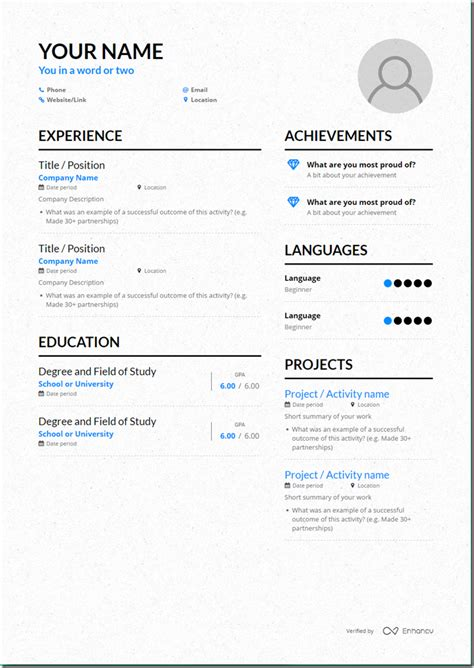 How To Make Your Own Resume by How To Make Your Own Resume Template Acting Resume