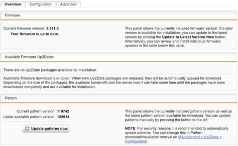pattern is not working pattern update not working hardware installation
