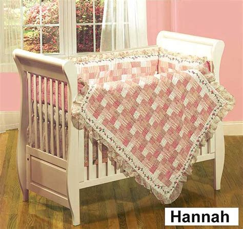 quilt crib bedding 4 crib quilt set