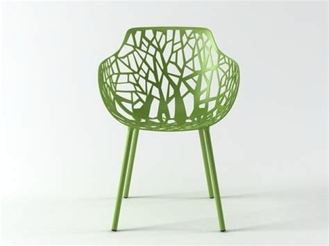 forest armchair 3d model fast