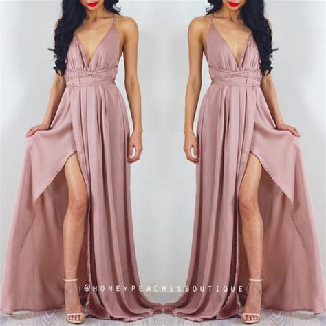 Maxi Dusty Pink the way i you maxi dress dusty pink