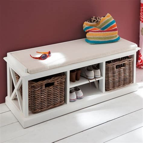 bench with storage underneath halifax white storage bench akd furniture