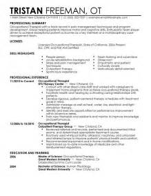 functional resume format for physical therapist