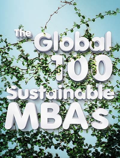 Global Green Mba by Better World Mba