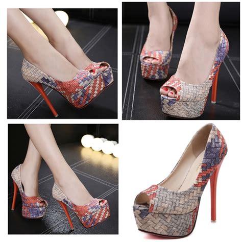 Sepatu Wanita Heel 12cm jual shh912612 sepatu heels 14cm grosirimpor