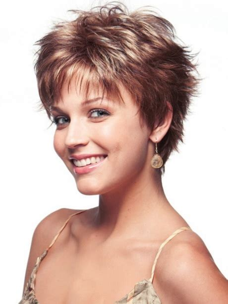 easy short hair styles for thin hair over 50 short easy care hairstyles for women over 50
