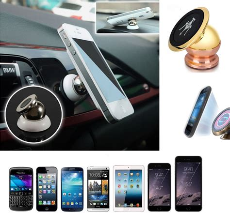 Patchworks Universal Magnetic Phone Holder Car Mount Set Original universal 360 magnetic phone mobile car dash holder magic stand mount for iphone ebay