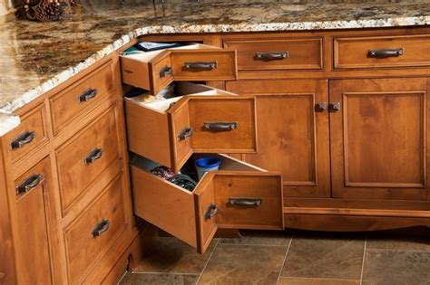Rustic Log Kitchen Cabinets Rustic Log Home Rustic Kitchen Other Metro By Mullet Cabinet