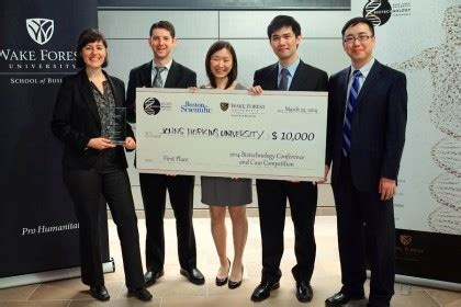 Jhu Mba And Masters In Biotechnology by Student Team From Johns Places At