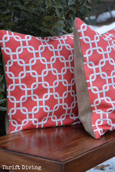 What Is The Pillow Made Of by How To Make A No Sew Pillow Diy Tutorial Thrift Diving
