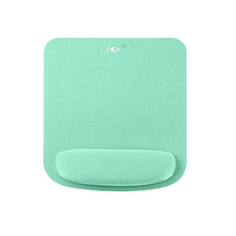 most comfortable mouse pad nex mouse pad with wrist rest support non slip memory foam