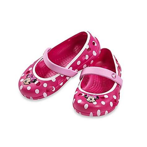 Crocs Minnie Mouse Led Light Crocs Keeley Minnie Mouse Flat Buybuy Baby