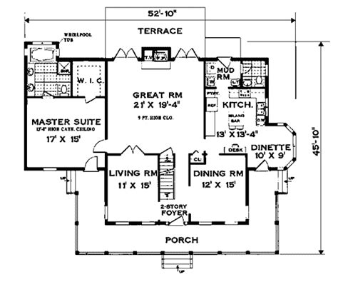 southern plantation floor plans farson southern plantation home plan 089d 0013 house