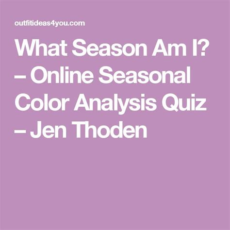 what color am i quiz what season am i color analysis quiz what colors look