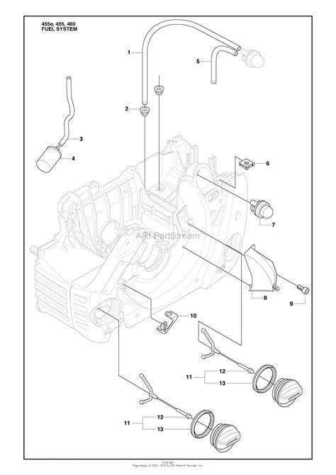 husqvarna 455 rancher parts diagram husqvarna 455 rancher 2009 10 parts diagram for fuel system
