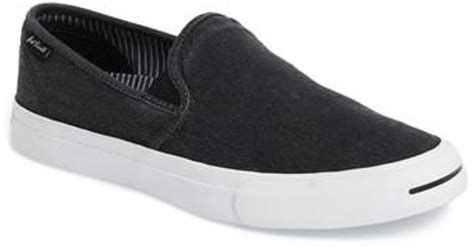 Jual Converse Purcell Slip On converse purcell ii slip on in black for lyst