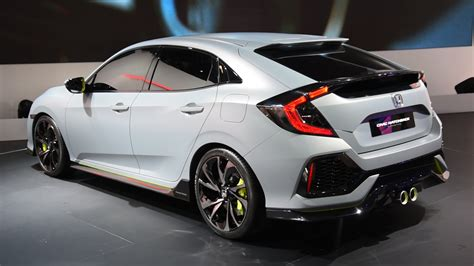 honda civic 2017 2017 honda civic hatchback prototype look 2016