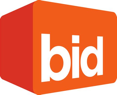 bid up tv file bid logo svg