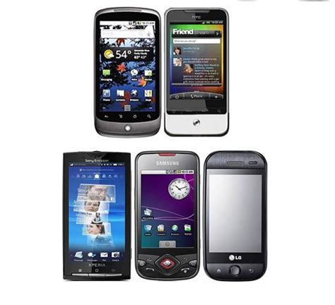 android phone with best top 5 android based mobile phones android advices