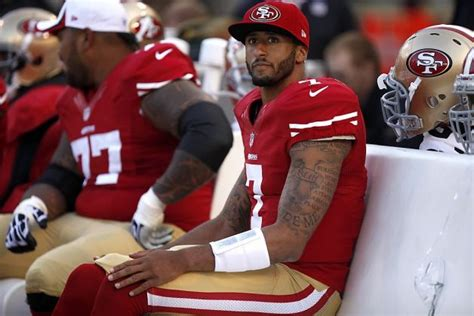 colin kaepernick benched starting lineups everybody hates colin kaepernick the
