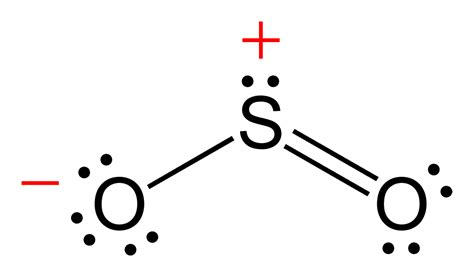 dot diagram for sulfur file sulfur dioxide ve c 2d png wikimedia commons