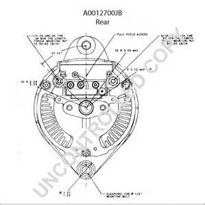 a0012700jb alternator product details prestolite leece neville
