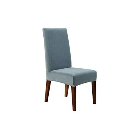 sure fit stretch pique shorty dining room chair slipcover sure fit stretch pique shorty dining room chair slipcover