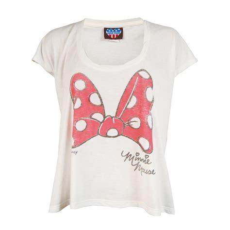 Minnie T Shirts junk food minnie mouse bow t shirt sugar junk food from honcho sfx uk