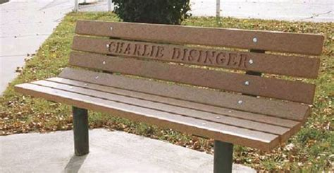 engraved memorial benches engraved trexx memorial bench laser ideas pinterest