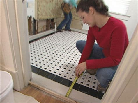 how to lay bathroom floor how to install a mosaic tile floor how tos diy