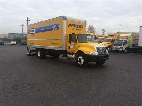 used medium duty box trucks for sale in oh penske used