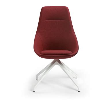 Ezy Chair by Ezy High 532 81 Chair Offecct Free Bim Object For Archicad Revit Bimobject