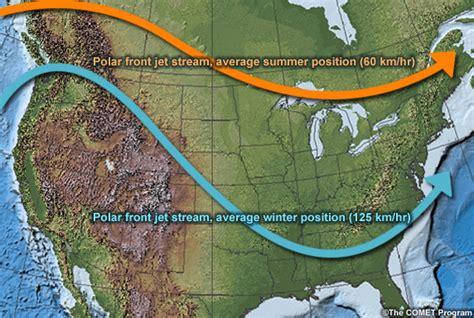 map us jetstream the jet s effect on nj s seasons