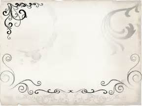 free paper design templates floral swirly frame free ppt backgrounds for your