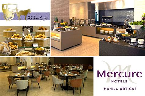 breakfast buffet promo  mercure manilas kalesa cafe