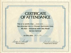 Ceu Certificate Template – Best Photos of Sample Certificate Of Attendance Template