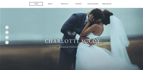 The 8 Best Portfolio Websites For Photographers Digital Trends Best Photography Website Templates