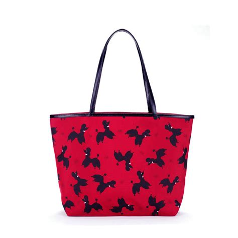 Looking For Lulu Guinness Versace Or Prada Get Discount Designer Glasses At Metsuki by Lulu Guinness Poodle Print City Tote In Lyst