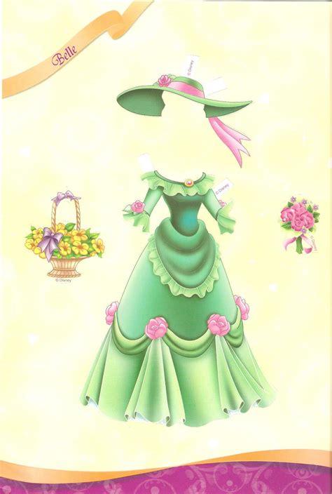 miss missy paper dolls all dressed up disney princess part 2