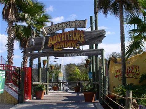 theme park jacksonville fl adventure landing jacksonville beach fl amusement