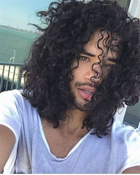 boys who wear long hair and nails 30 new stylishly masculine curly hairstyles for men