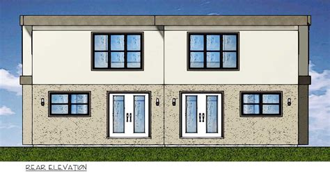 duplex house plan for the small narrow lot 67718mg 2nd duplex house plan for the small narrow lot 67718mg 2nd