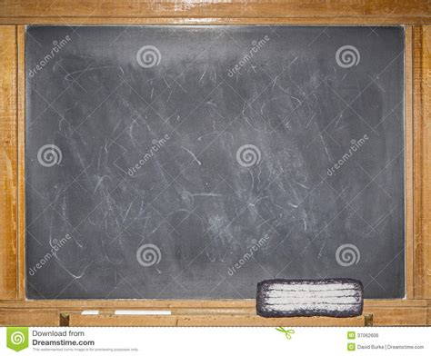 retro blackboard chalk message blank scratched royalty