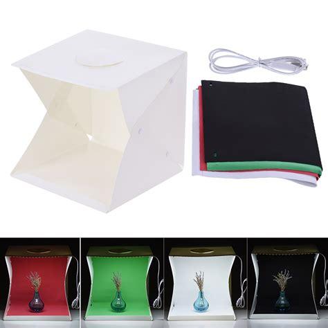 foldable photography lightbox studio soft box light tent