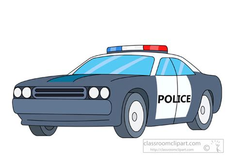Office Color police car clip art many interesting cliparts