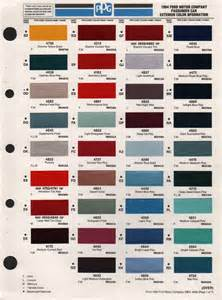 ford color codes paint chips 1994 ford truck