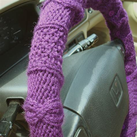 knitted cover knit steering wheel cover knithacker