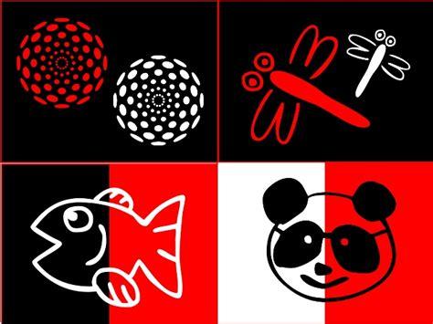 imagenes en rojo negro y blanco tarjetas de estimulaci 243 n visual blanco rojo y negro